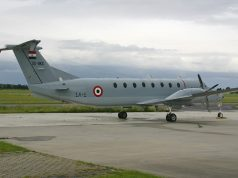 Egyptian Air Force Beechcraft 1900C