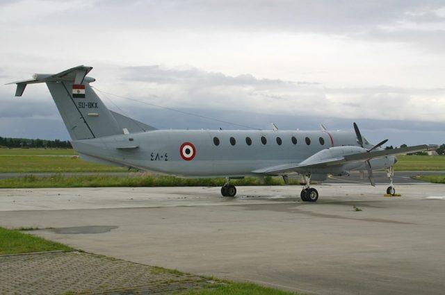 Egyptian Air Force Beechcraft 1900C