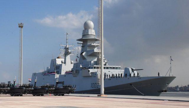 ENS Al-Galala (1002) at Alexandria naval base