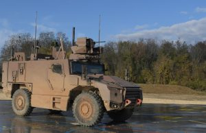 Serval multi-role armored vehicle