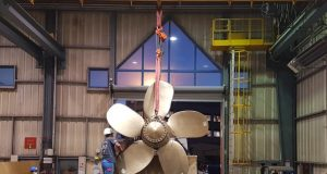 3D printed ship propeller