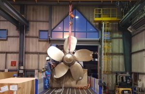 3D printed ship propeller