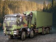 German Army Trakker truck
