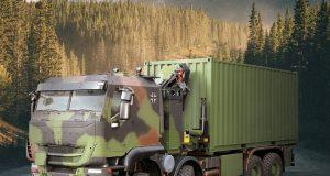 German Army Trakker truck