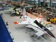 KAI T-50 trainer aircraft assembly line