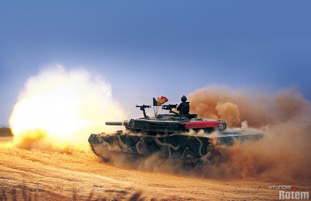 ROK Army K1 MBT