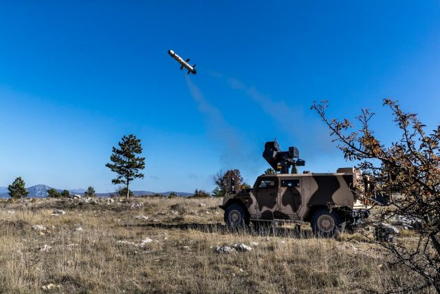 MMP launches from an Impact turret