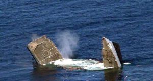 Type 21 frigate sinks in Pakistan Navy live-fire SINKEX