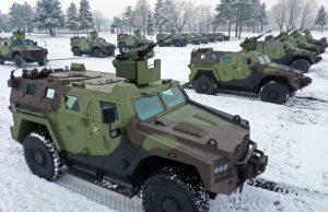 Milos combat vehicle