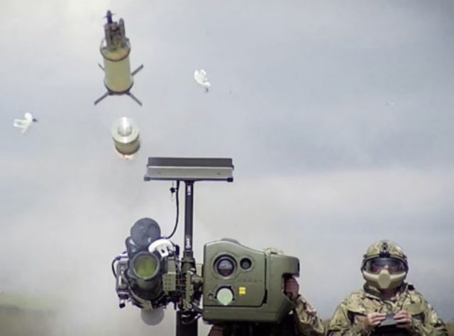 STARStreak air-defense system