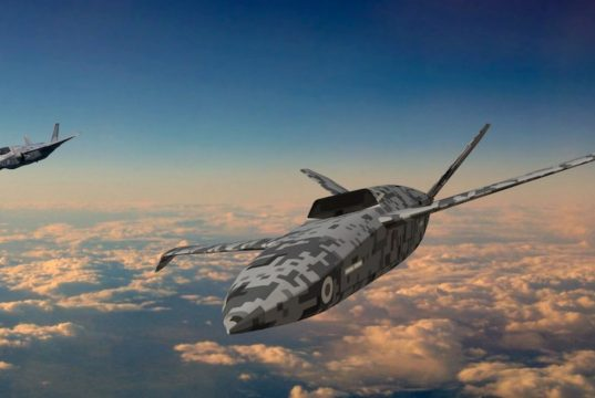 Project Mosquito Loyal Wingman UAV