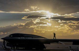 B-2 Spirit at Nellis Air Force Base