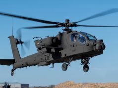 V6 Apache helicopter