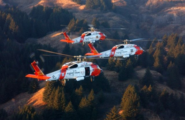 MH-60T Jayhawk helicopters