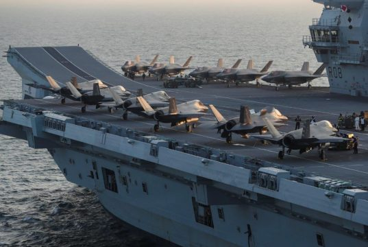 F-35B on HMS Queen Elizabeth