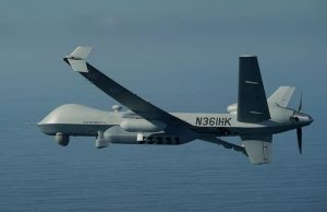 MQ-9A with a pneumatic sonobuoy dispenser system