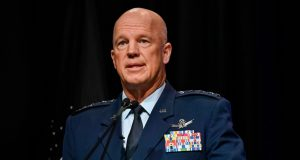 US chief of space operations Gen. John W. Raymond