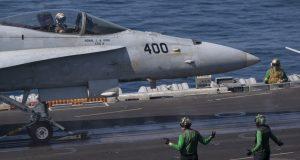 USS Nimitz in Middle East