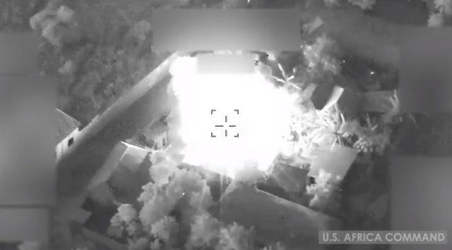al-Shabaab airstrike in Somalia