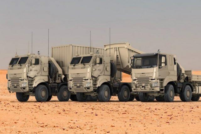 Variants of DAF CF military vehicles