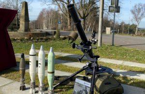 Hirtenberger 81mm mortar