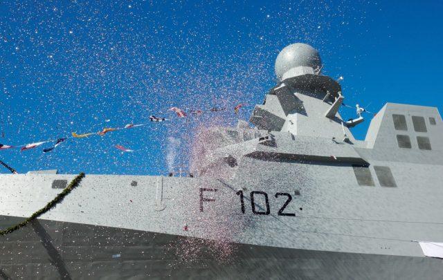 Qatari corvette Damsah