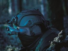 French Army ONYX night vision goggle