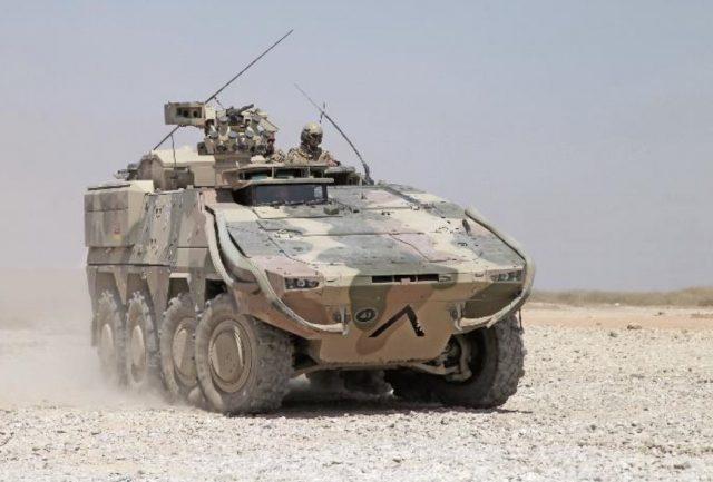 German Army Boxer vehicle