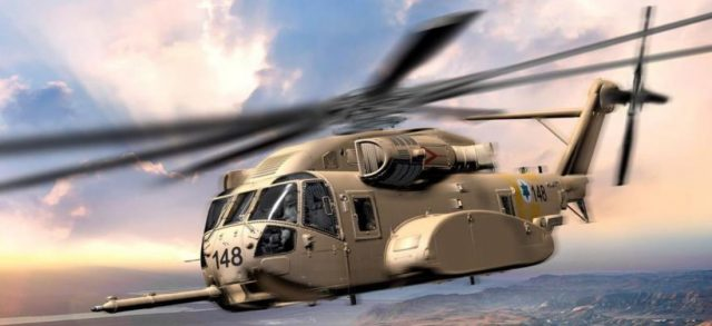 CH-53K in Israel Air Force livery