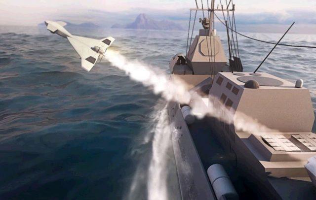 HAROP naval version munition