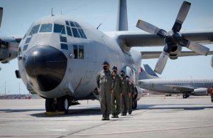 KC-130 Hercules in Lima, Peru