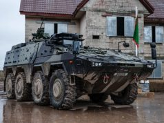 UK Boxer armored vehicle