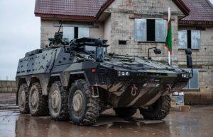 UK Boxer armored vehicle
