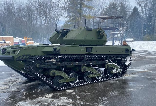 Ripsaw mini tank