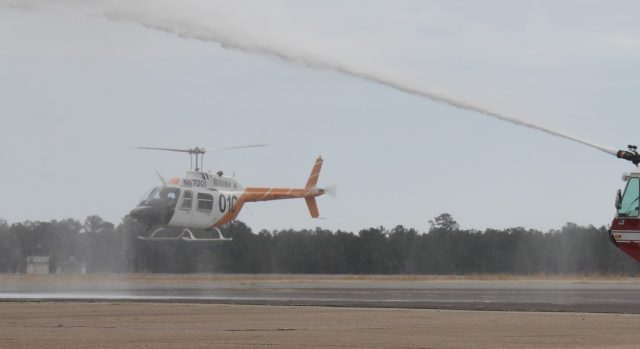 Creek US Army helicopter trainer