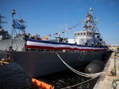 USS Shamal decommissioning