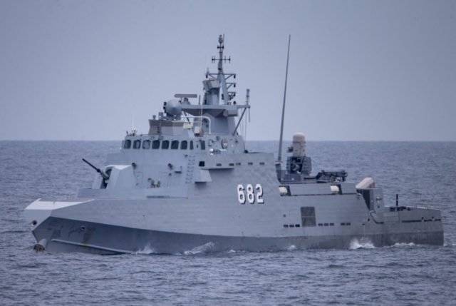 Egyptian Navy Ambassador III class missile craft Soliman Ezzat (PCFG 682)