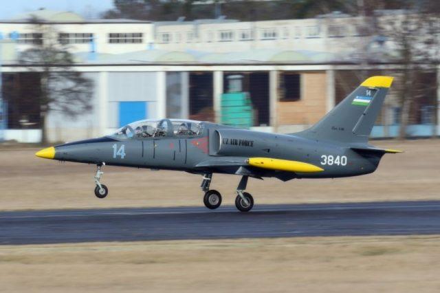 Uzbek Air Force L-39 Albatros