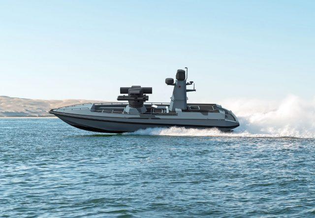 Turkish ULAQ unmanned combat surface vessel