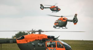 German Army H145 SAR helicopter