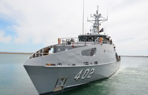 Guardian-class patrol boat for Papua New Guinea