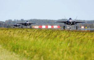 New Australian F-35As at RAAF Base Williamtown.