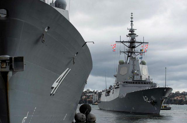 HMAS Sydney starts Aegis combat systems trials