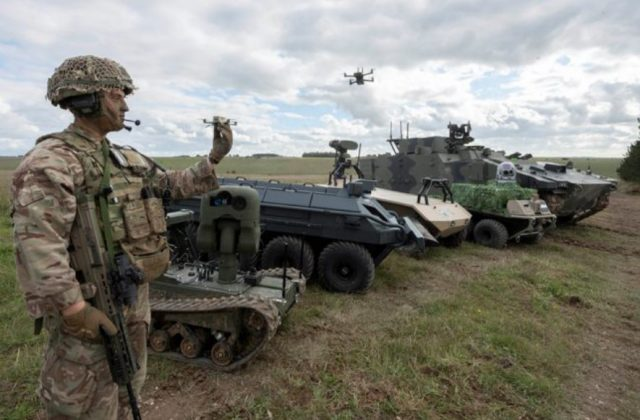 British Army UGVs
