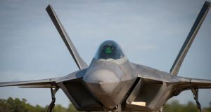 F-22 at Eglin AFB