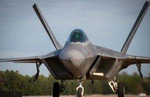 F-22 at Eglin AFB