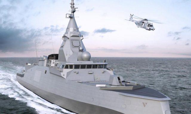 French navy FDI frigate