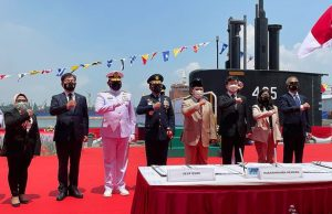 Indonesian Navy KRI Alugoro