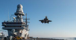 F-35B landing on ITS Cavour