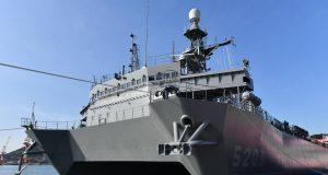 Hibiki-class SURTASS ship JS Aki